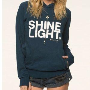 Spiritual Gangster shine light hoodie
